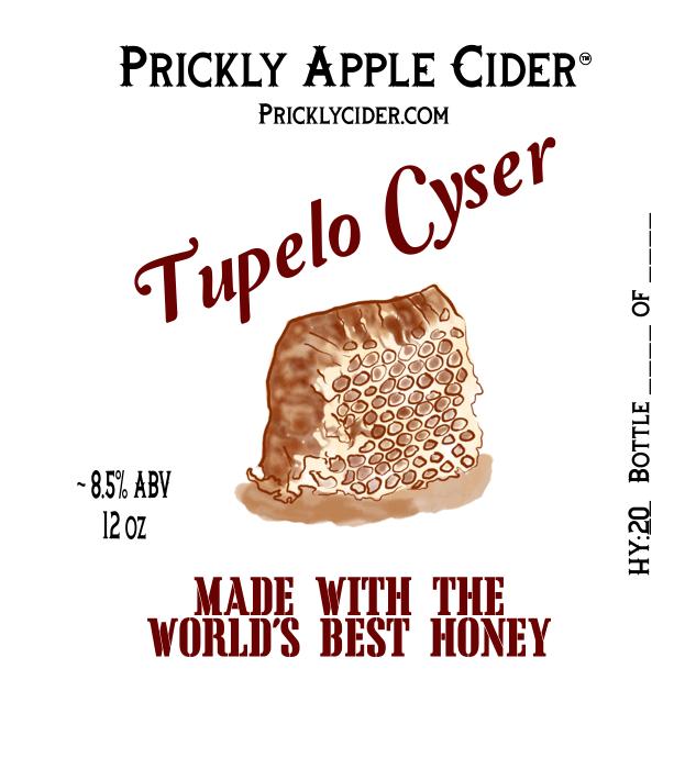 Tupelo Cyser Label