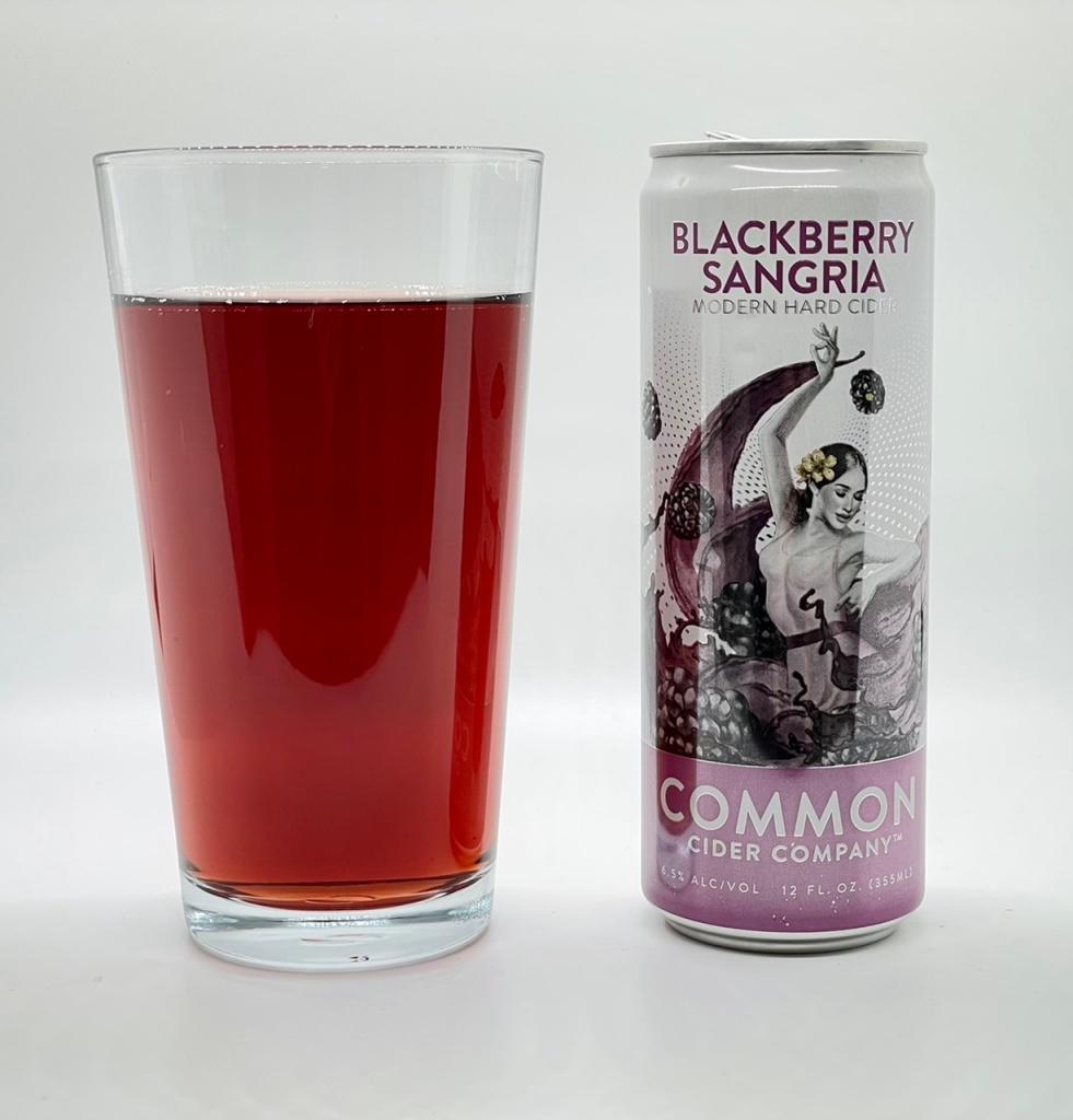 Blackberry Sangria Cider