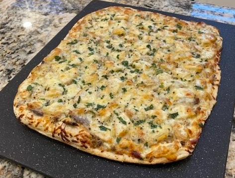 Prime Rib Pizza