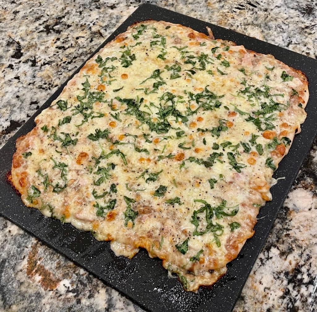 Ham Apple Butter Pizza