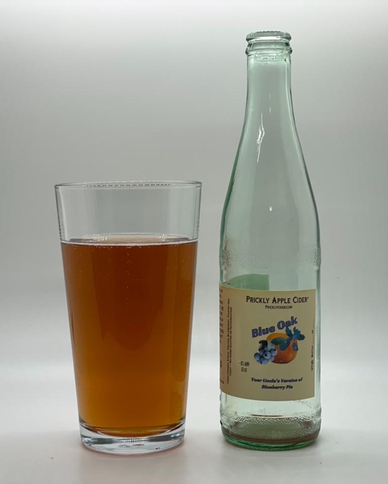 Blue Oak Cider: A blueberry cider aged with oak.