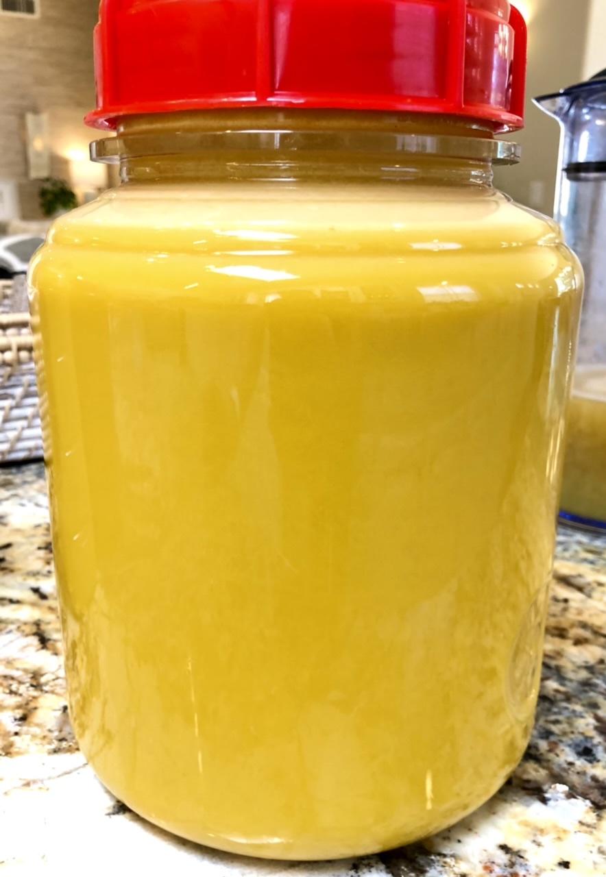 Pre-Clarified Apple Juice