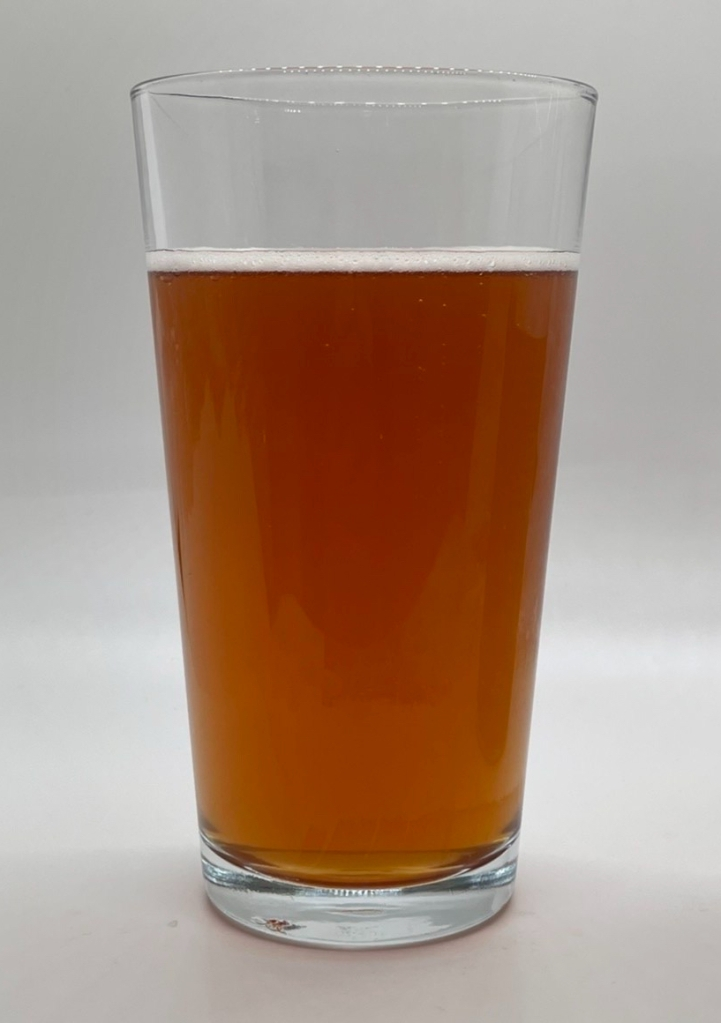 Red Cider in a Glass