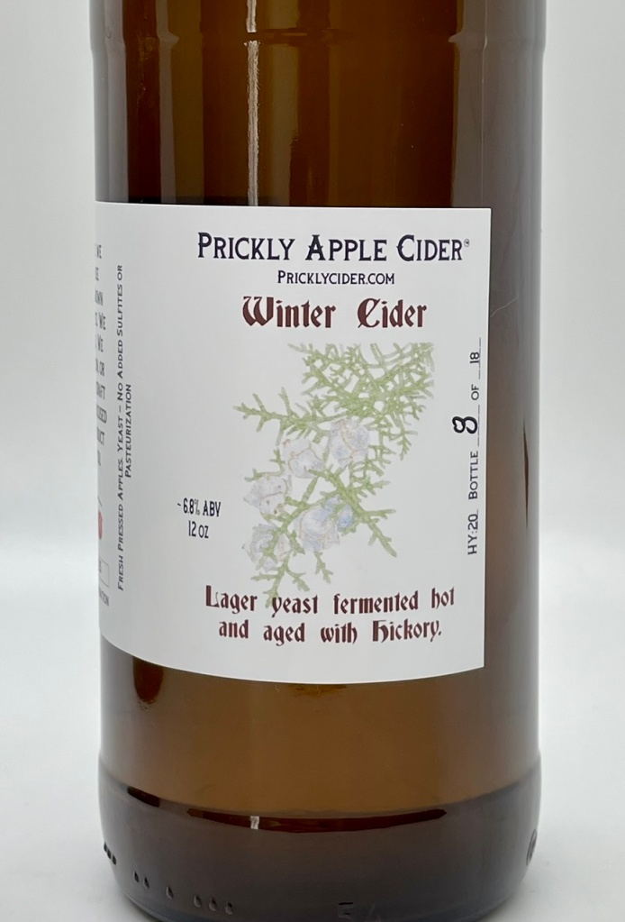 Winter Cider Bottle