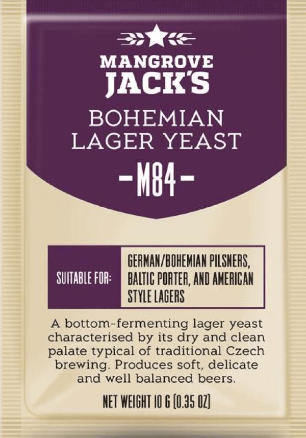 Mangrove Jack's Bohemian Lager Yeast - M84