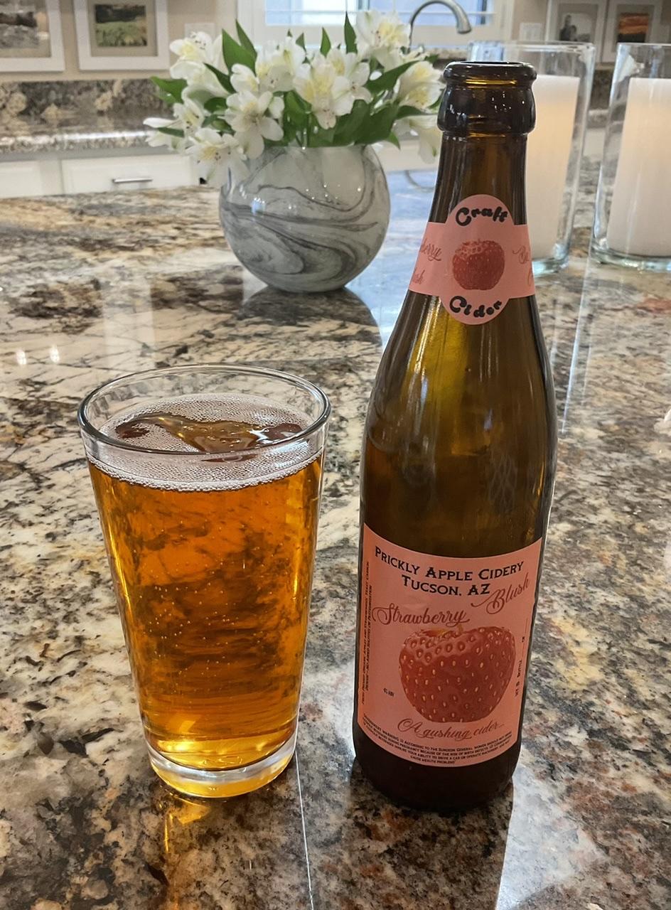 Strawberry Blush Cider