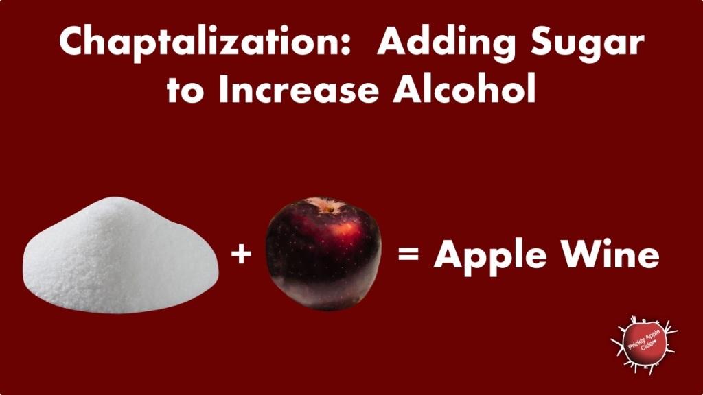 Chaptalization: Why would you add sugar?