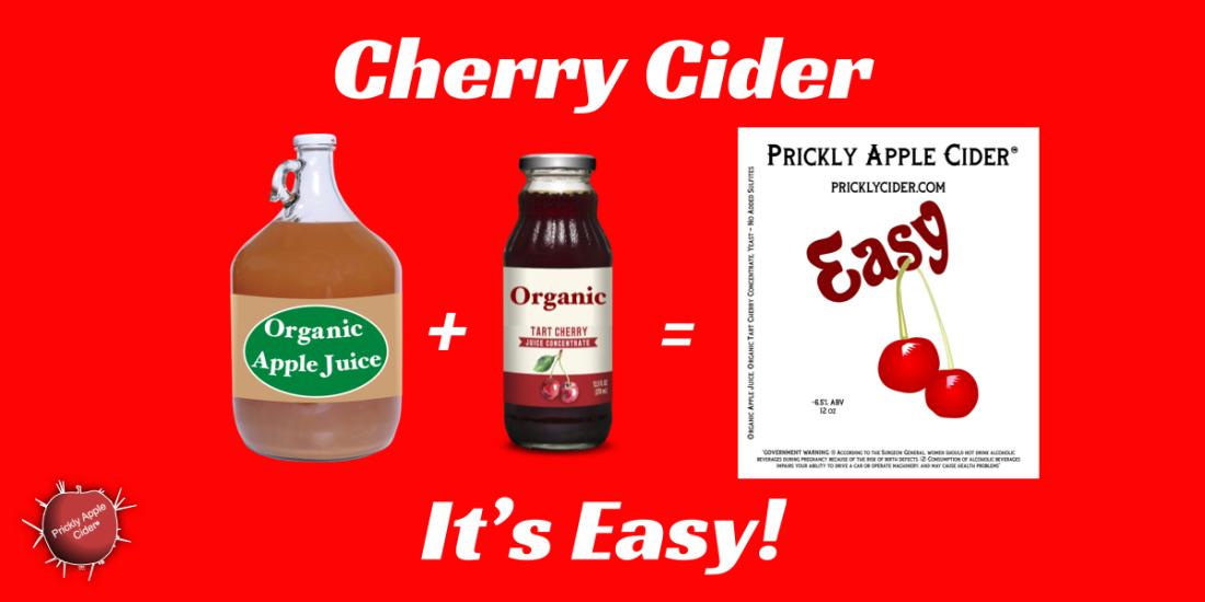Cherry Cider: Made Easy