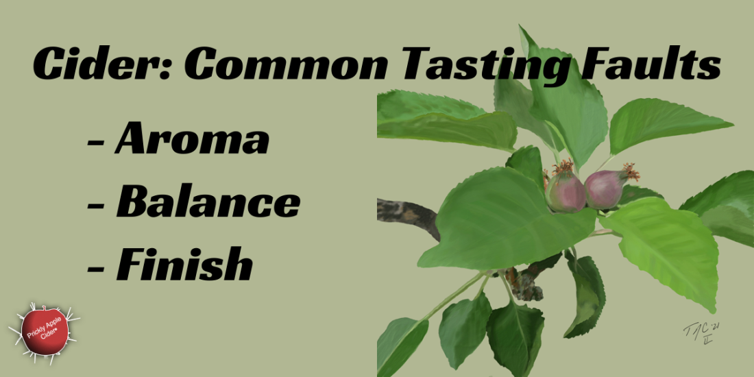 Cider Tasting Faults - Aroma, Balance, and Finish